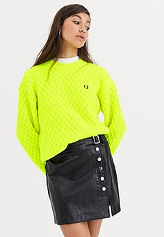 Fred Perry Strukturierter Pullover
