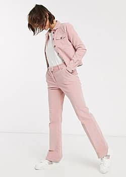 b.Young b. Young – Hose mit weitem Bein-Rosa
