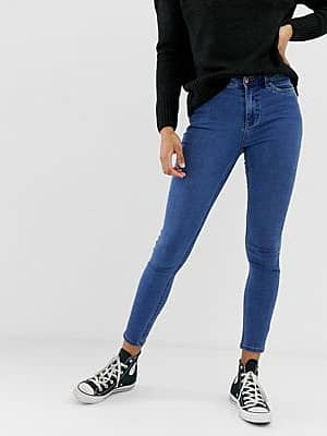 New Look India – Superweiche, eng geschnittene Jeans-Blau