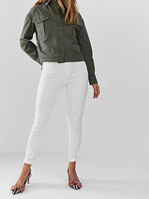 New Look Jeggings-Weiß