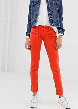 Pepe Jeans New Brooke – Rote, enge Jeans 25,99 €