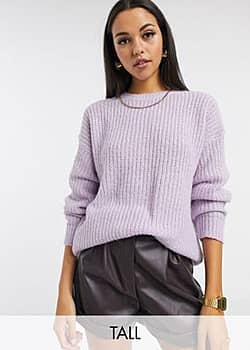New Look  – Lila Pullover-Violett 23,99 €